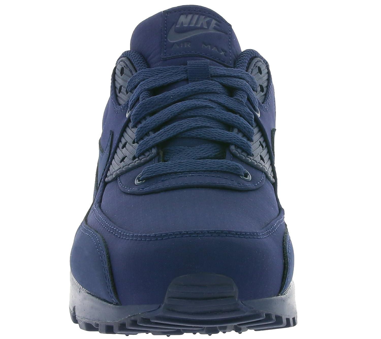 Nike Air Max 90 Marineblått Og Hvitt Dusj H0KEYAVPA
