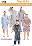 Men's Robe and Pajama Sewing Pattern