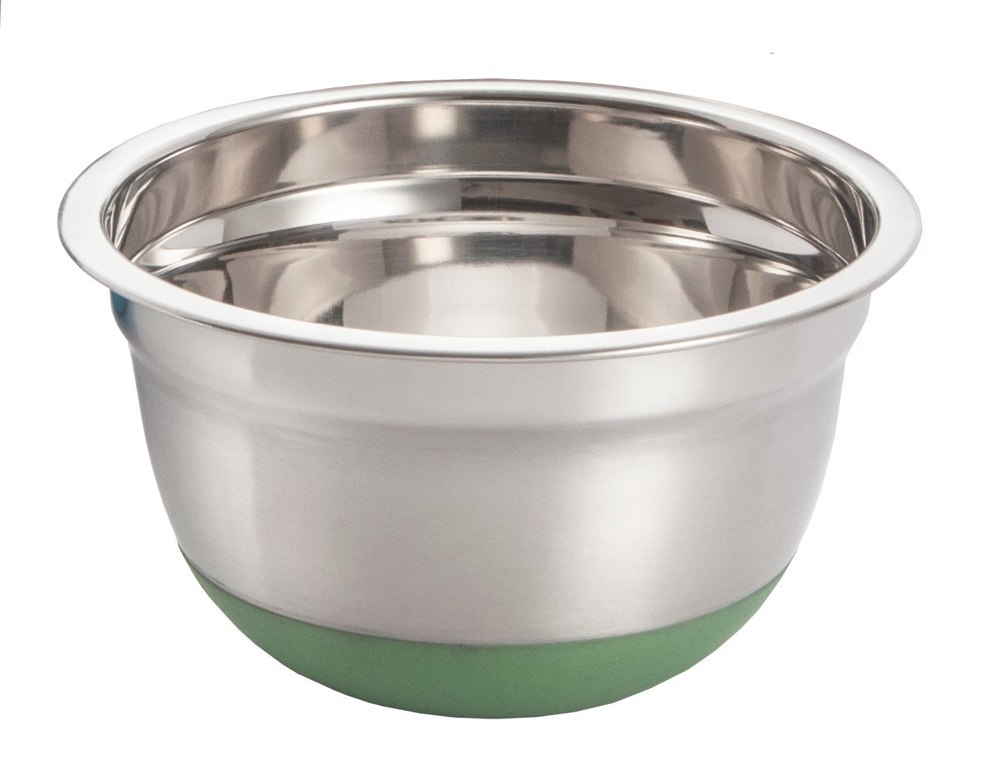 ExcelSteel 296 1.5-Quart Stainless Steel Non Skid Base Mixing Bowl
