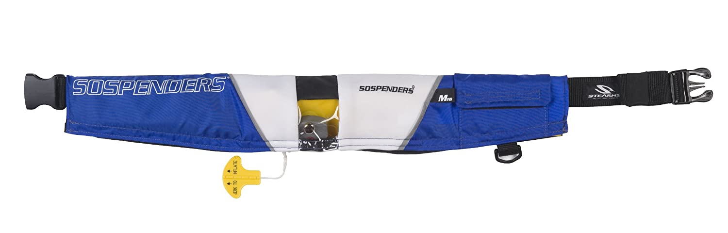 Stearns Suspenders Manually Inflatable Belt-Pack Life Jacket