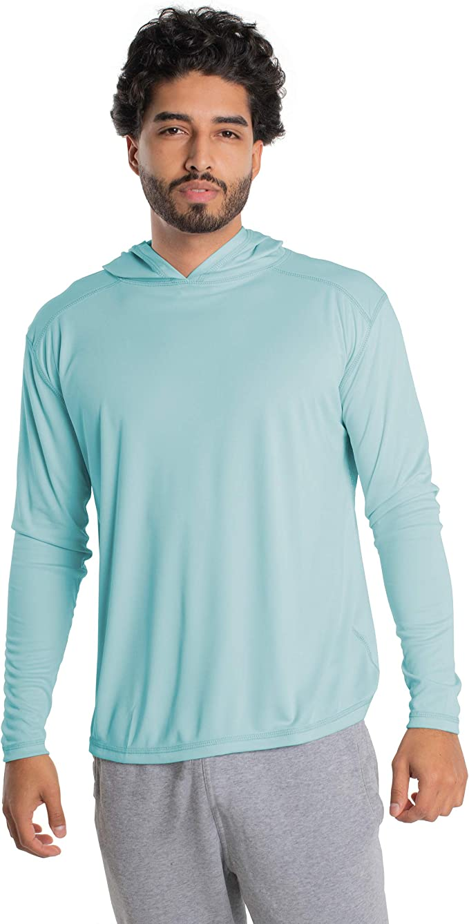 Sun Protection Quick-Dry Long Sleeve T-Shirt Vapor Apparel Youth UPF 50