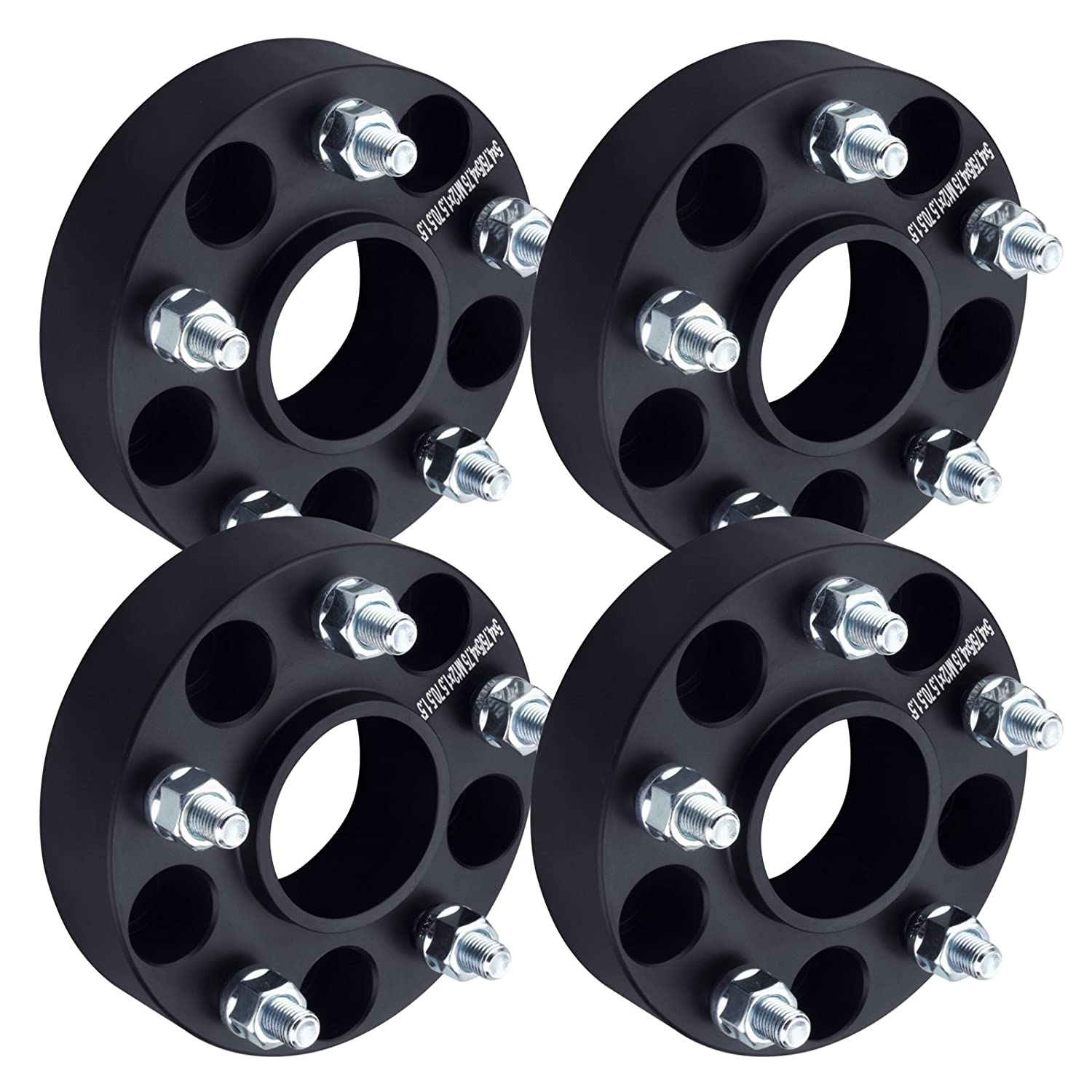 S10 Lug Pattern >> Amazon Com Dcvamous 5 Lug Hubcentric Wheel Spacers 5x4 75 With 12x1