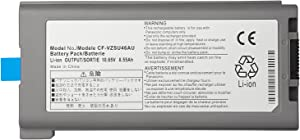 CPY CF-VZSU46S Replacement Battery Compatible with Panasonic Toughbook Cf-30 Cf-53 Laptop Cf-vzsu46au Cf-vzsu71u Cf-vzsu72u Cf-vzsu1430u CF-VZSU46 CF-VZSU46U 10.65V 8.55Ah 9-Cell