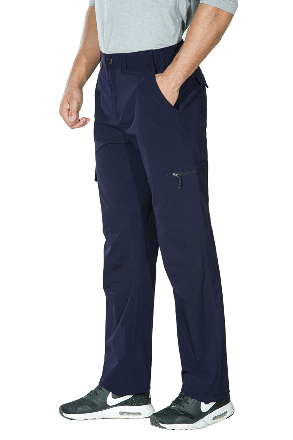 Nonwe Mens Outdoor Quick Dry Water-Resistant Breathable Cargo Pants OT6117011