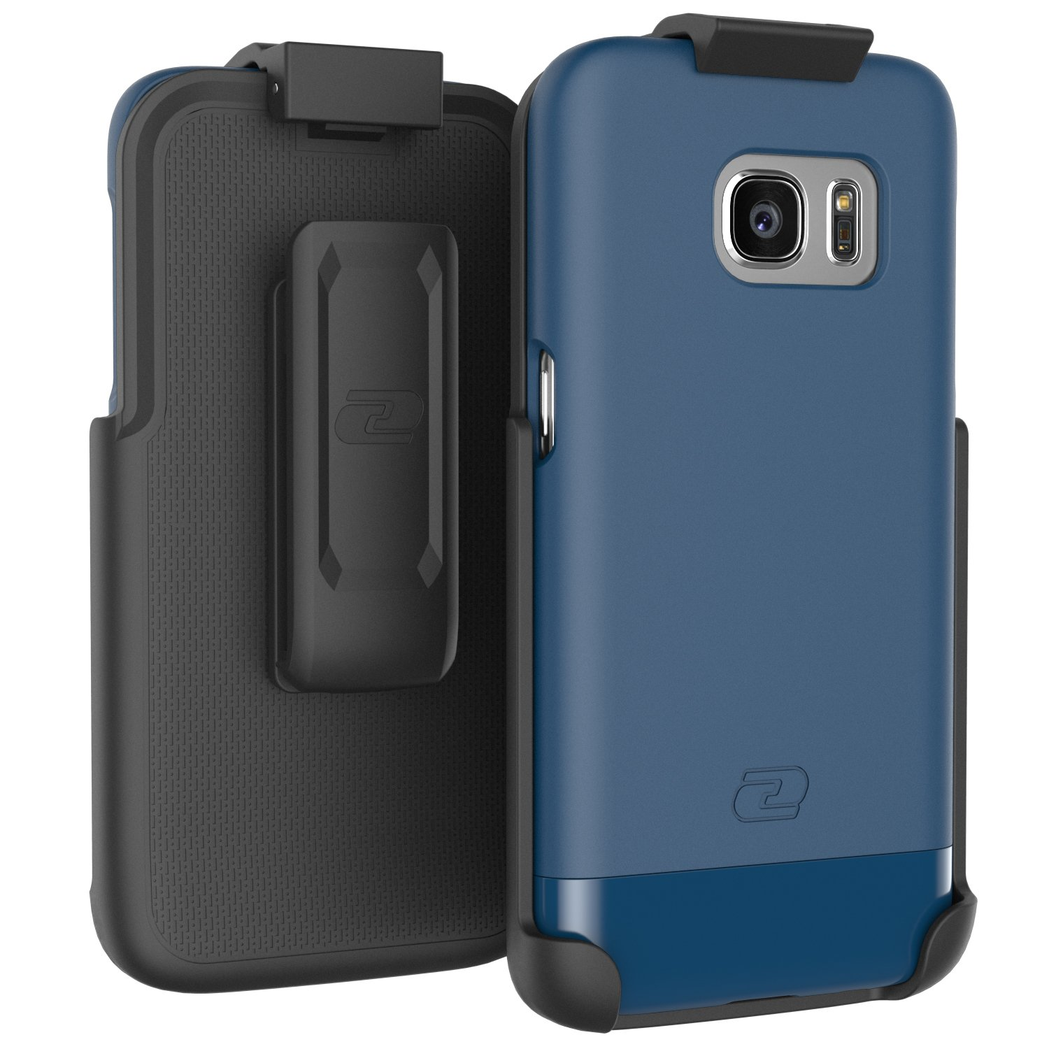 Encased/® Ultra-thin 2016 Ultimate Style Case /& Belt Clip Holster for Samsung Galaxy S7 Deep Blue SlimSHIELD Samsung Galaxy S7 Case Protection