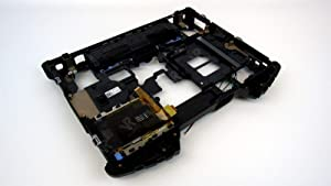 W535M - Refurbished - Black - Dell Latiude E6400 XFR Rugged Base Bottom Cover Assembly