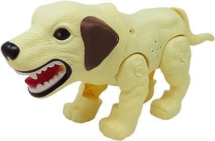 Robot Dog Walking Barking Lights And Sounds Childrens Fun Flashing Robotic Pet