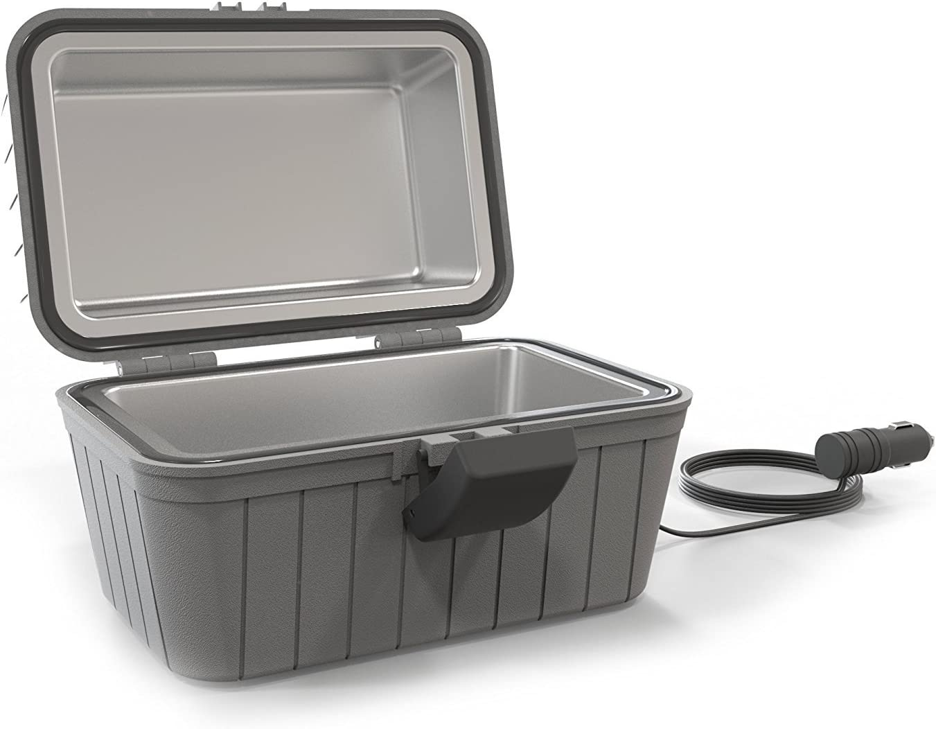 <strong>Gideon Heated Electric Lunch Box 12-Volt Portable Stove</strong>}