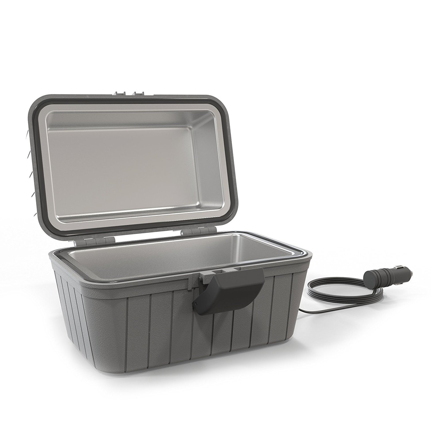 Gideon Heated Electric Lunch Box 12-Volt Portable Stove for Car, Truck, Camping, Etc. - Enjoy Hot Delicious Meals by Gideon