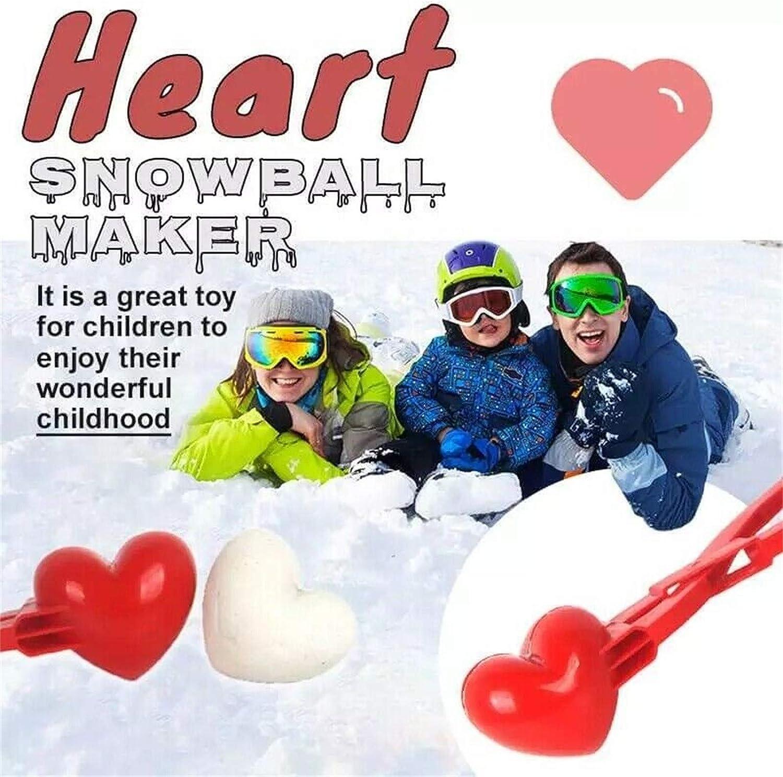 anne210 Schneeballformer Winter Schneeball Maker Profi Schneeballzange F/ür Schneeb/älle Zuf/ällige Farbe 1 St/ück