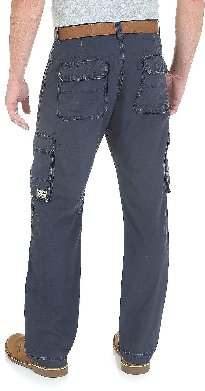 57911e03 Wrangler Genuine Mens Ripstop Cargo Pants at Amazon Men's Clothing store: