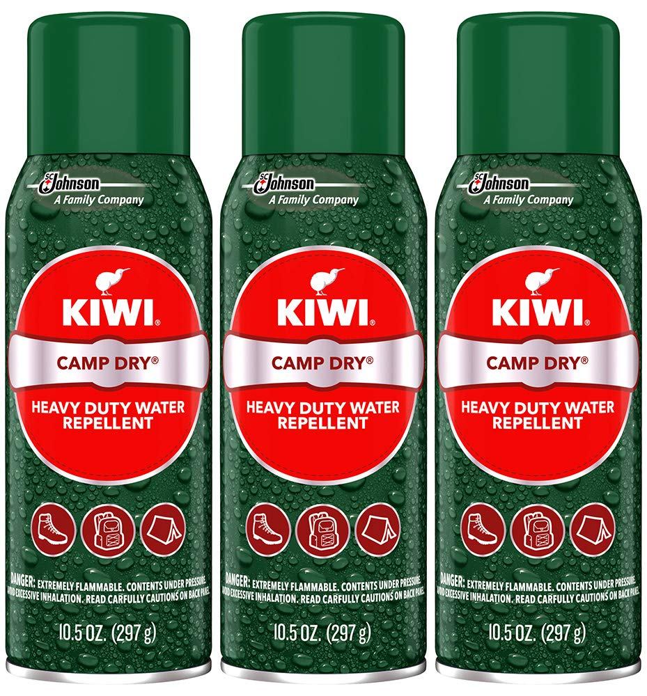 Kiwi Camp Dry Heavy Duty Water Repellent (3-10.5 oz cans) by Kiwi