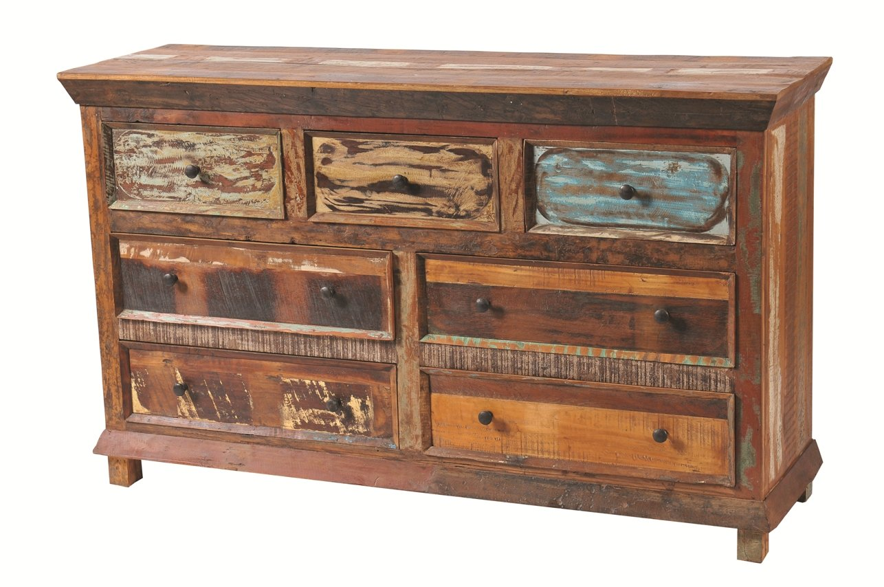 Moti Furniture Trinidad Dresser with 7 Drawers