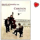 Chronos David Orlowsky Trio - 14 temperamentvolle Klezmer-Stücke und Balladen vereint der dritte Band des Klarinettisten David Orlowsky - Songbook mit bunter herzförmiger Notenklammer