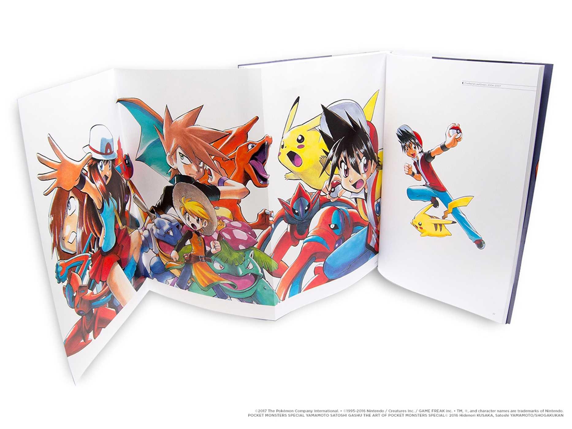 Pokémon Adventures 20th Anniversary Illustration Book: The Art of Pokémon Adventures (Pokemon) by VIZ (Image #4)
