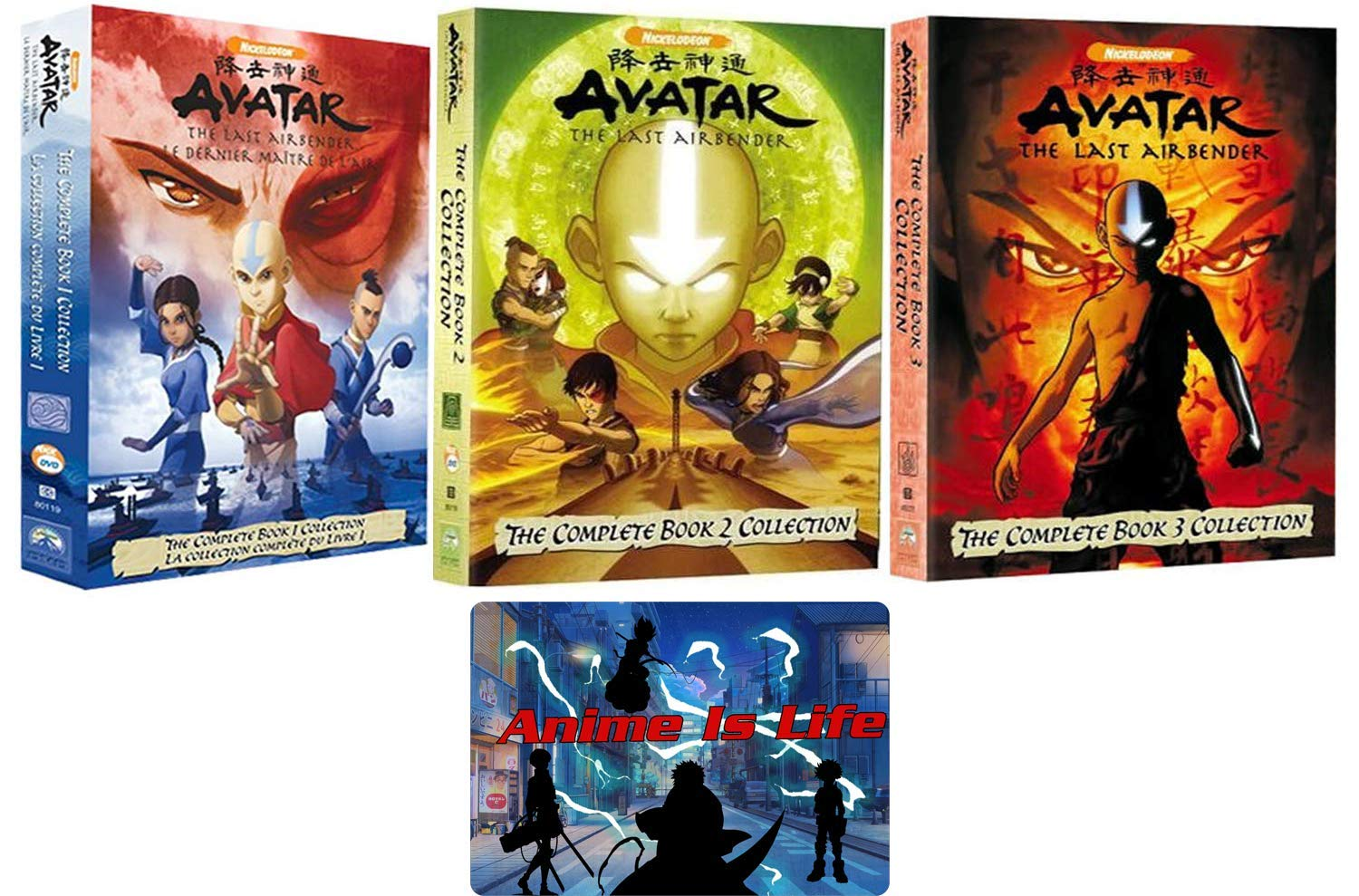 collection complete the last book 3 avatar the airbender