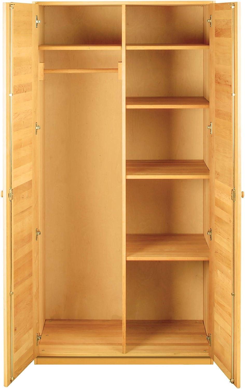 BioKinder 22634 Armario Kai con 2 Puertas. 200x100x62 cm. Aliso Biológica: Amazon.es: Hogar