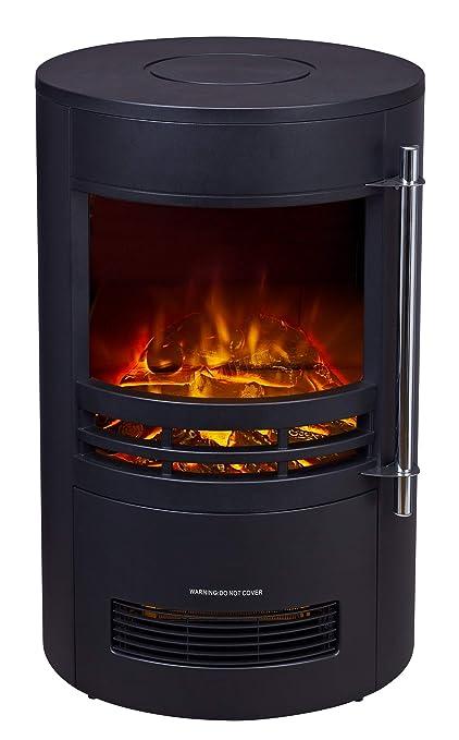 Tremendous Foxhunter Electric Log Burner Steel Flame Effect 3D Heater Vintage Cast Iron Indoor Home Freestanding Woodburner Fireplace Coal Burner Fire Fake Download Free Architecture Designs Scobabritishbridgeorg