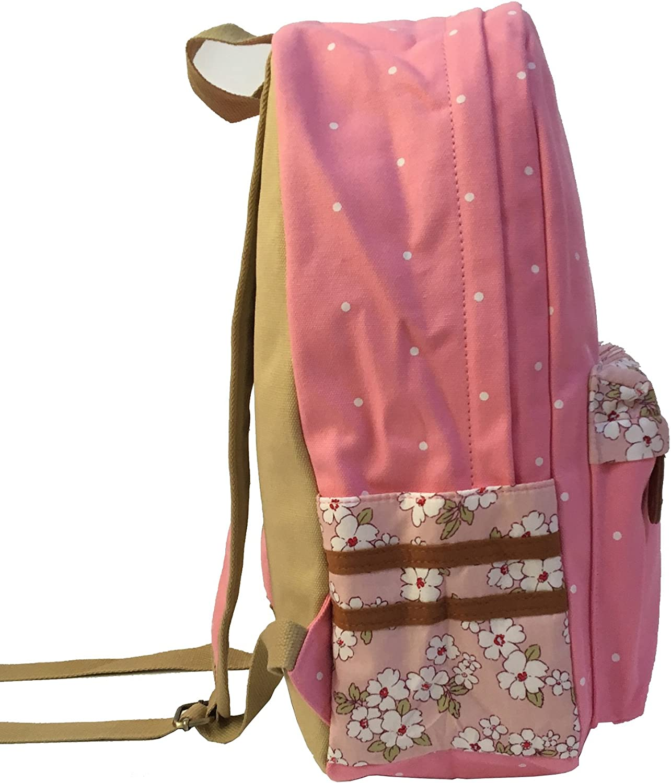 YOYOSHome Luminous Anime Bleach Cosplay College Bag Daypack Bookbag Backpack School Bag Pink