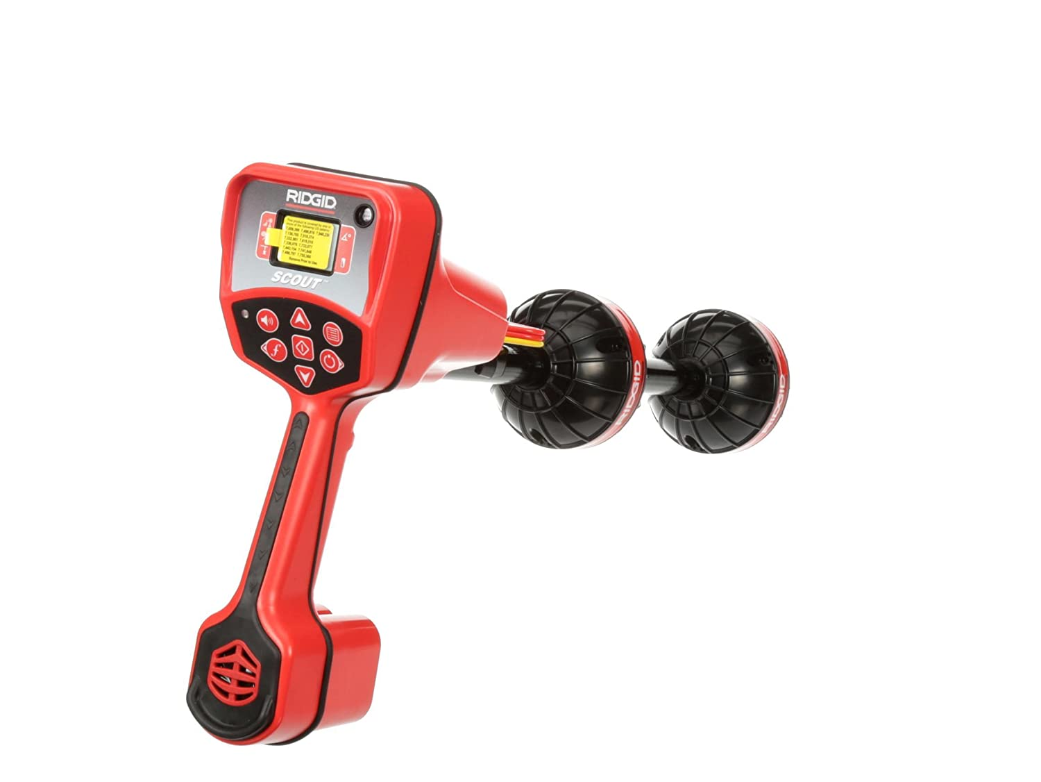 Underground Pipe Locator and Underground Cable Location Device /& 16728 Remote Transmitter 512 Hertz Sonde for Underground Pipe Location,Red//Black,Small RIDGID 19238 NaviTrack Scout Locator