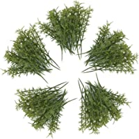 100PCS Plastico Modelo De Bambu Arboles Verdes Escala