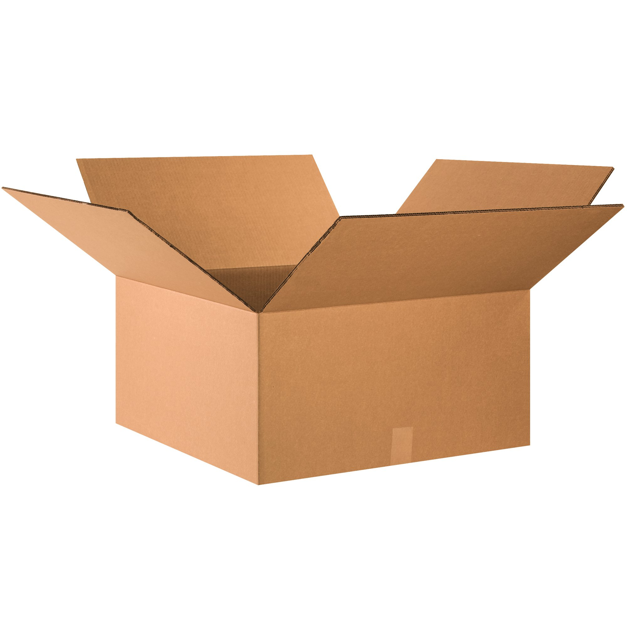 Boxes Fast BFHD262612DW Double Wall Corrugated, Heavy-Duty Cardboard Boxes, 26'' x 26'' x 12'', for Shipping, Packing and Moving Protection, Kraft (Pack of 10)