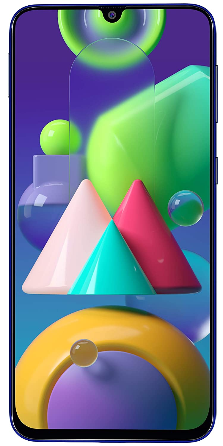 Samsung Galaxy M21 (Blue, 4GB RAM, 64GB Storage)