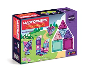 Magformers Solid Inspire Set (40-Pieces) MagneticBuildingBlocks, EducationalMagneticTiles Kit , MagneticConstructionSTEM Set