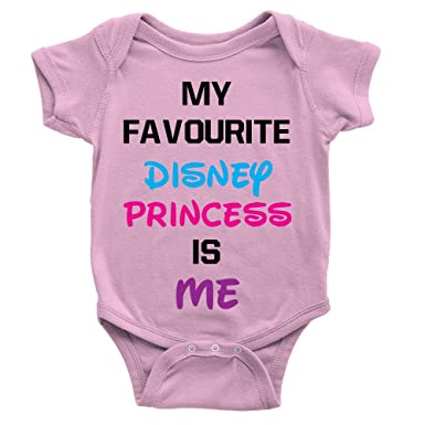 96e6d133164f Disney Princess Baby Babygrow Cute Funny Quote New Born Body Suit Gift  Present: Amazon.co.uk: Clothing