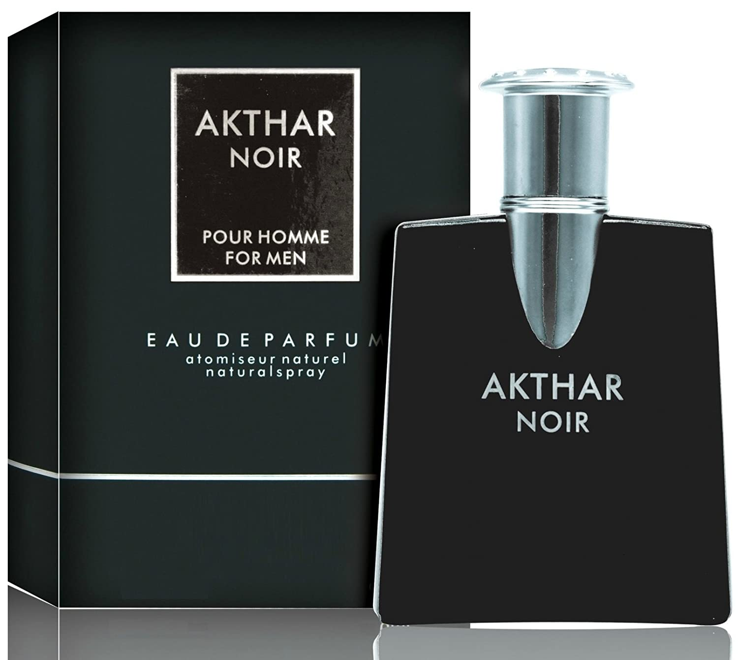 Akthar Noir For Men - Impression Of Drakkar - 3.1 Ounces