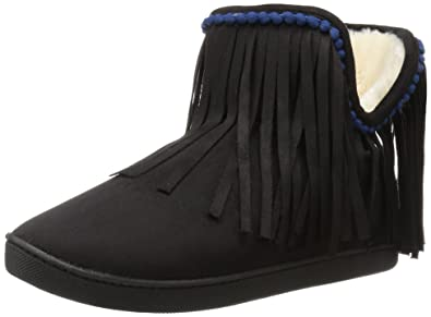 509a884c298 Steve Madden Women s Slumber Slipper Black 5 ...