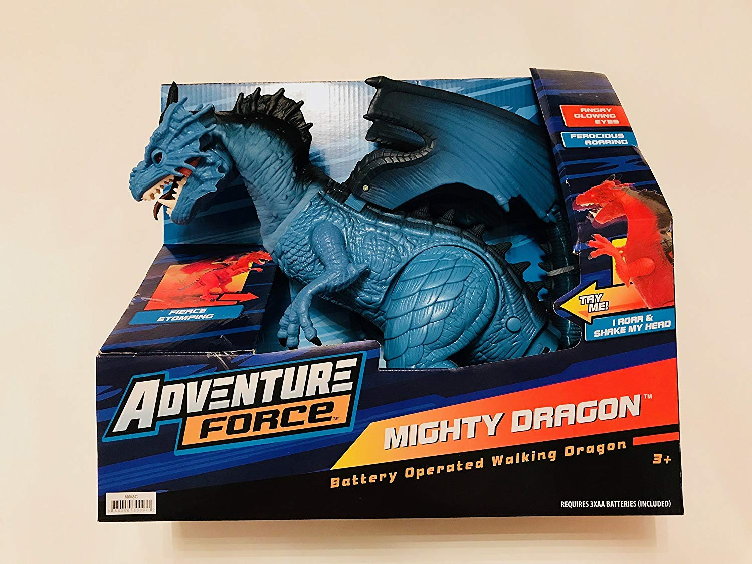 amazon com mighty dragon light and sound battery operated dragon