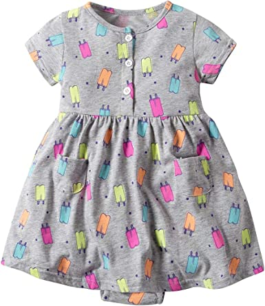 Infant Baby Girls Carters 3-24 Month Pick Size 2-pk Dress /& Romper Perfect Gift