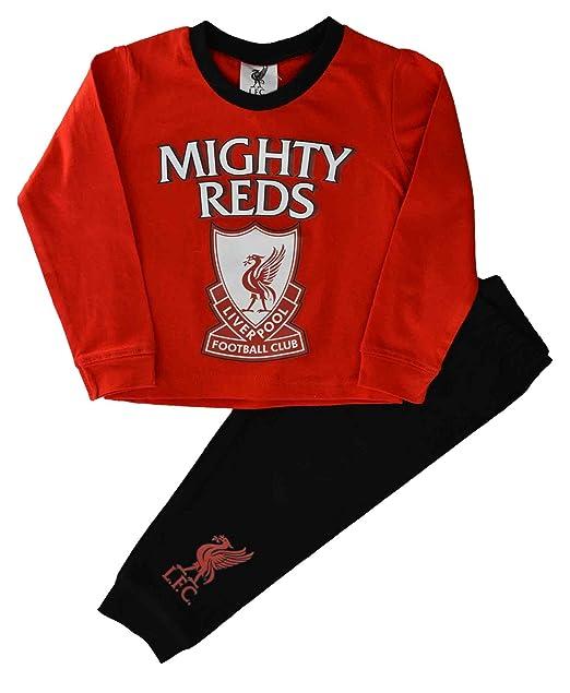Liverpool F.C. - Pijama dos piezas - Manga Larga - para niño rojo rosso 12-