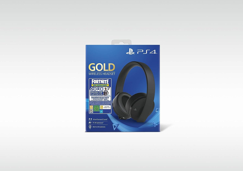 PlayStation 4 - Gold Wireless Headset: Neo Versa Bundle [Importación alemana]: Amazon.es: Videojuegos