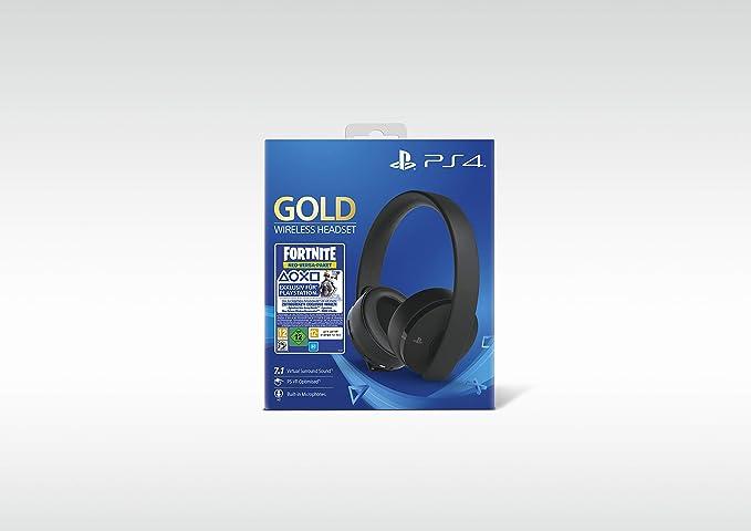 PlayStation 4 - Gold Wireless Headset: Neo Versa Bundle ...