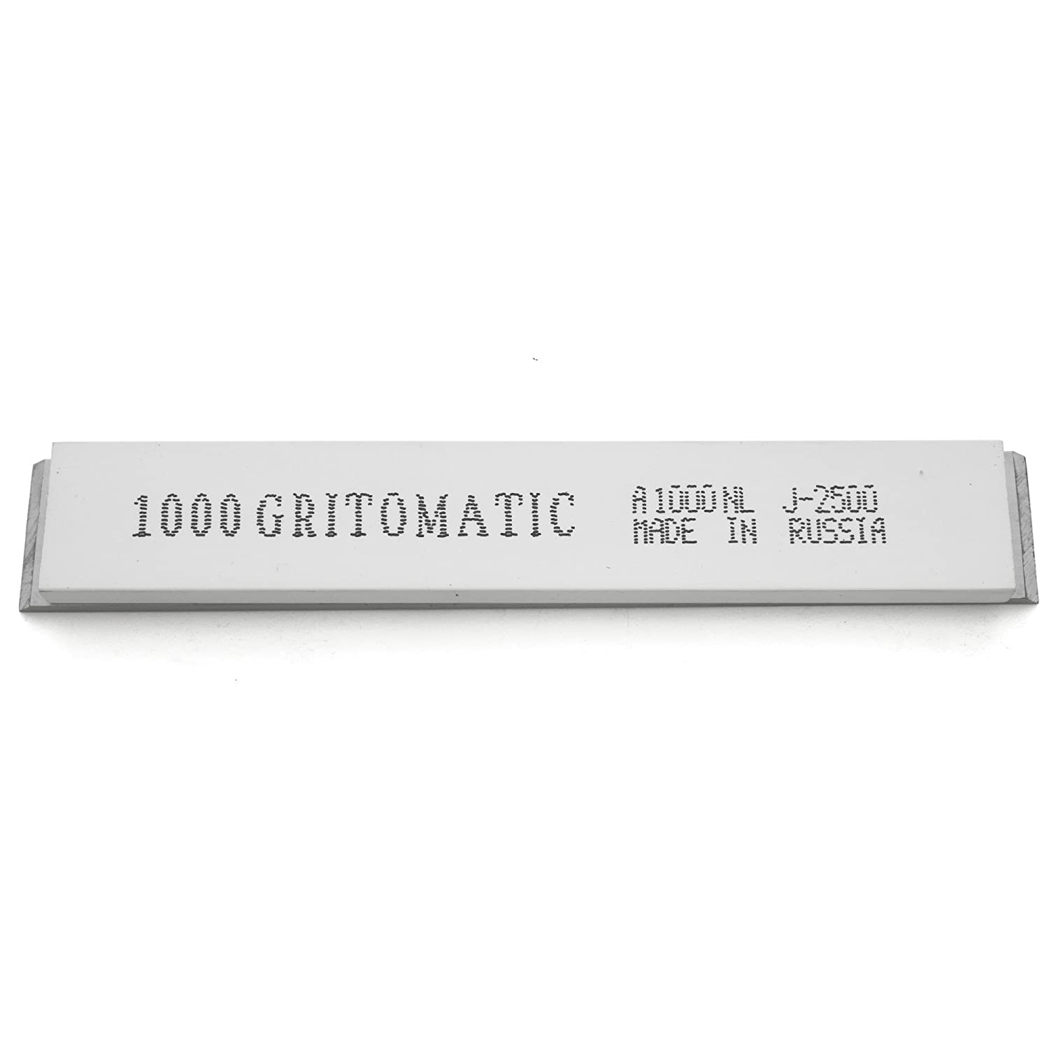 5 stones Gritomatic Aluminum Oxide 6 x 1 x 0.25 Sharpening Stone Set with Aluminum Mounting for Edge Pro