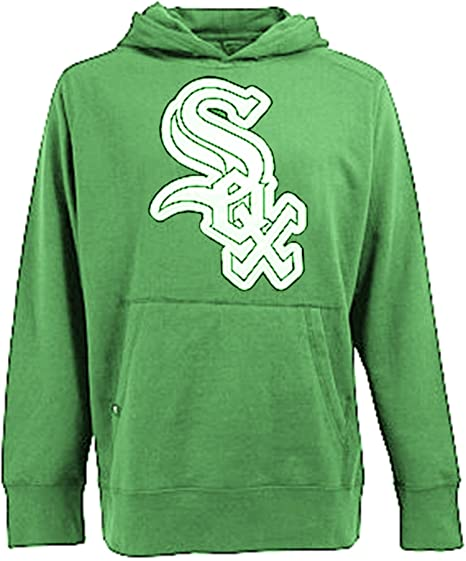 save off 40e71 13f8f Chicago White Sox Green Signature Pullover Hoodie (Small) at ...