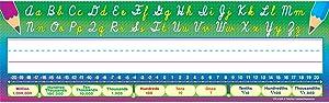 Teacher Created Resources Flat Cursive Writing Name Plates (4308)