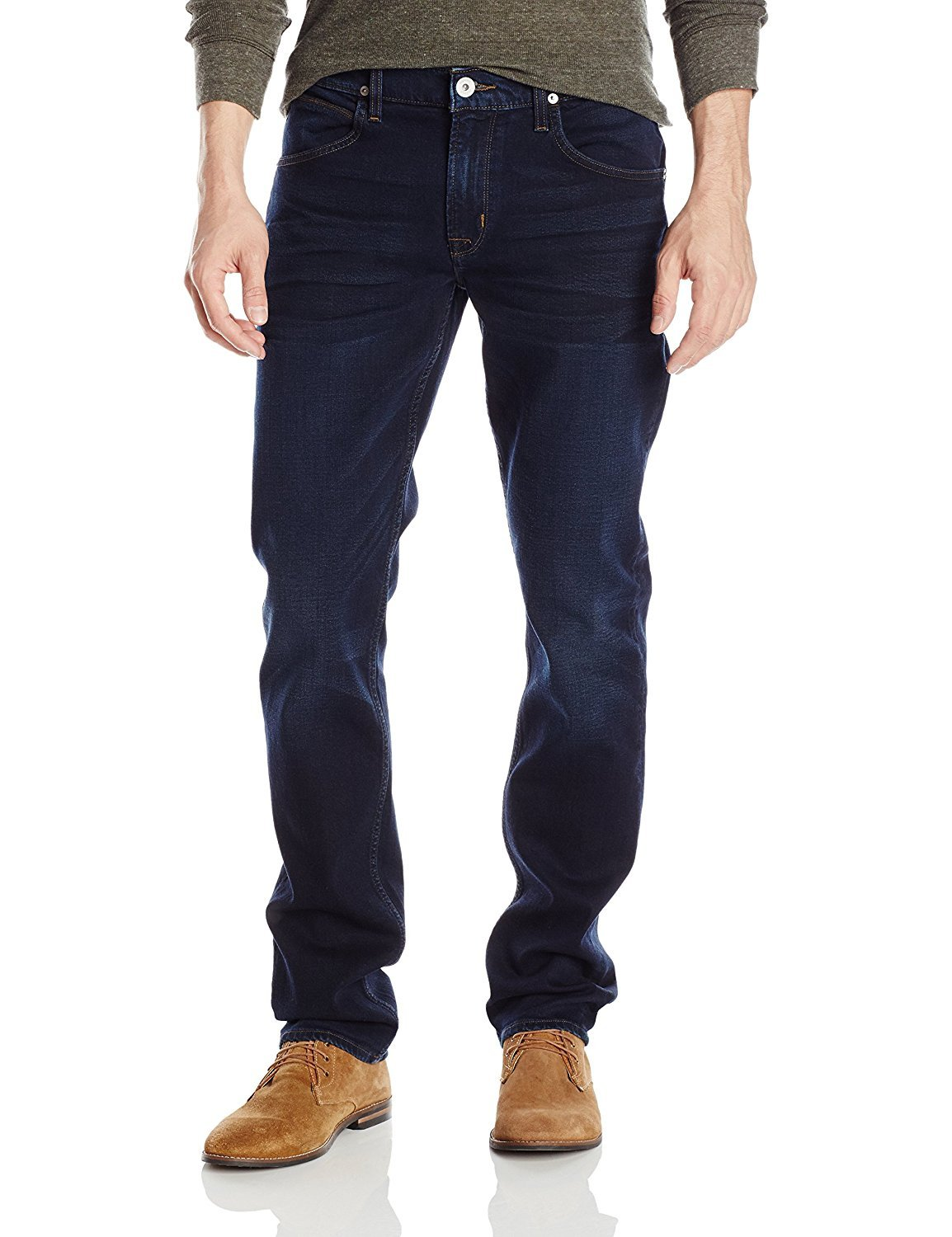 Hudson Jeans Men's Blake Slim Straight Leg Jean in, Accused, 29