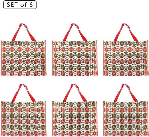 Women Foldable Reusable Eco Handbag Travel Shopping Tote Grocery Storage Bag Cal