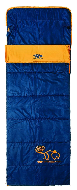 Siete cielo tribal saco de dormir left-ziper 27-S05 azul: Amazon.es: Deportes y aire libre