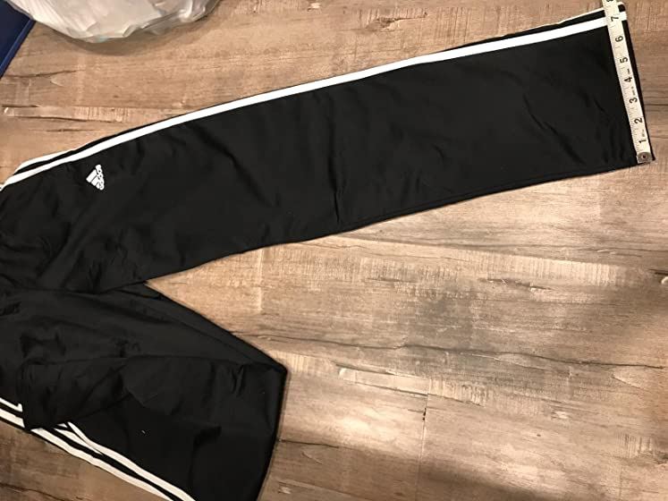 adidas Men's  Essentials 3-stripes Tricot Track Pants Good Product, but be weary of fit