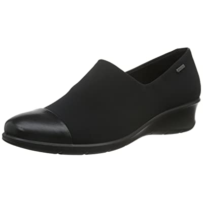 ECCO Women's Felicia Gore-Tex Slip On Wedge | Loafers & Slip-Ons
