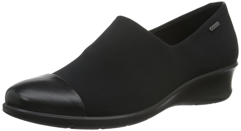 Ecco Felicia, Zapatillas Bajas para Mujer 39 EU|Negro (Black/Black53960)