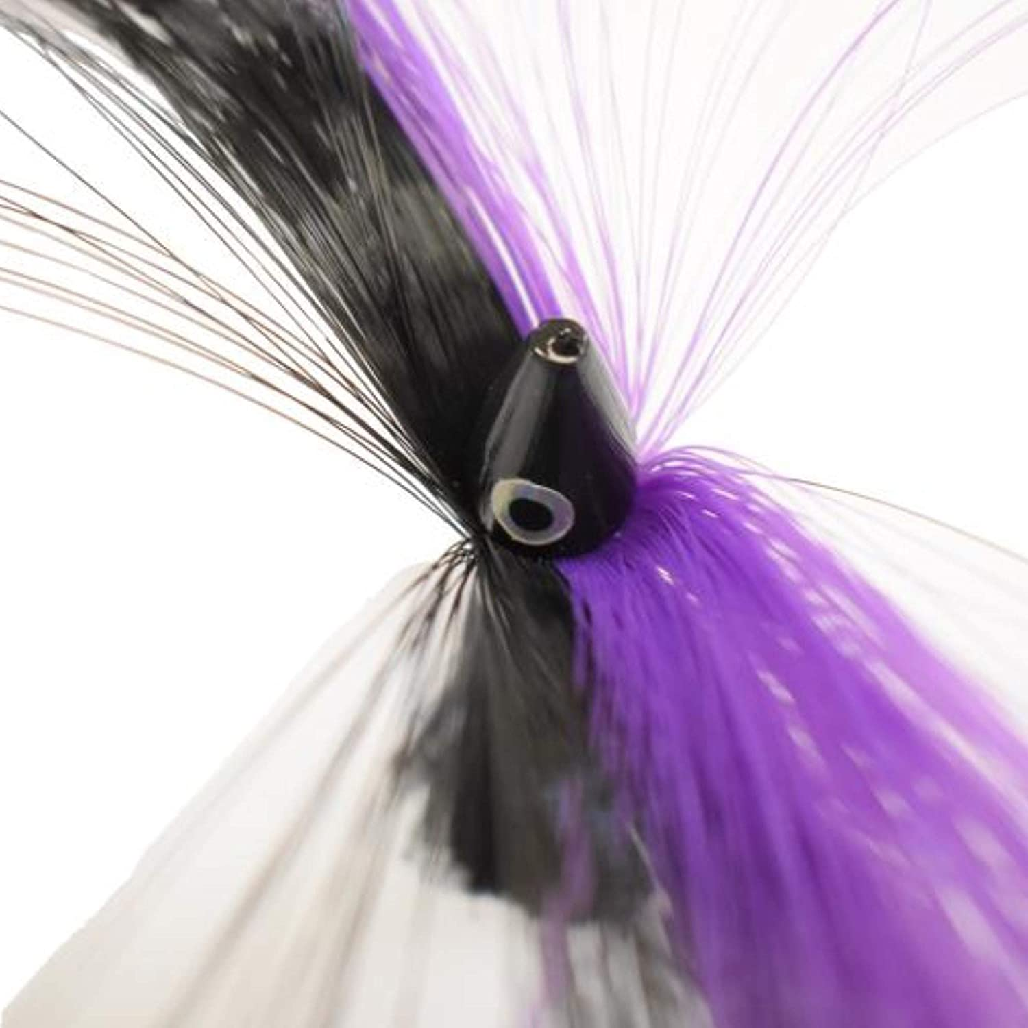 EAT MY TACKLE 5 Sea Witch Saltwater Fishing Lures Purple and Black 8