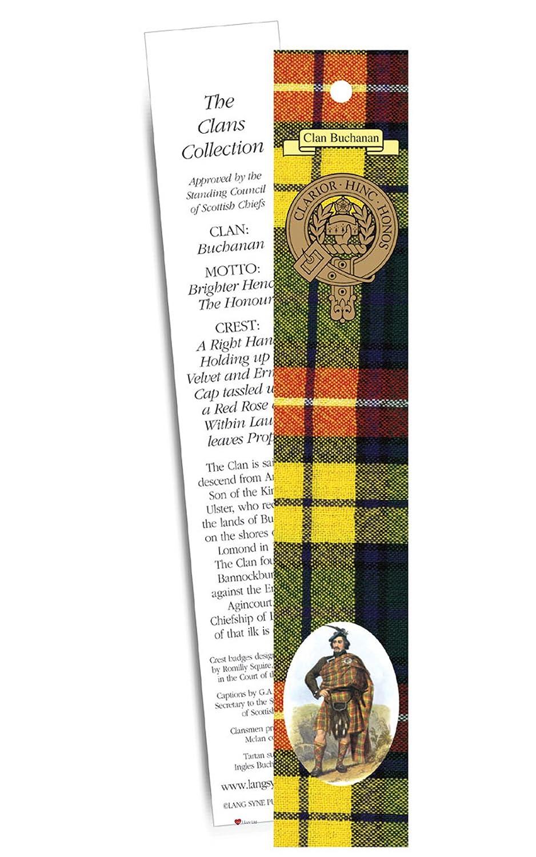 Buchanan Clan Bookmark B00C377QJG