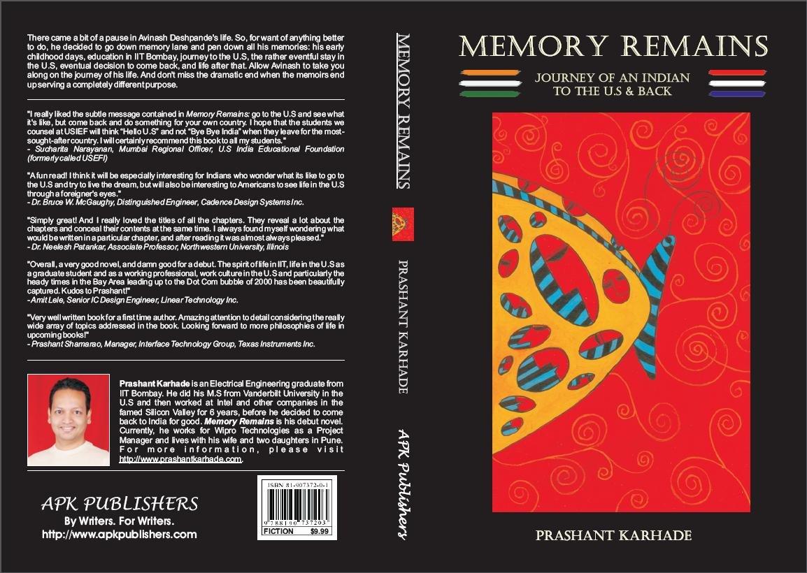 Memory remains prashant karhade 9788190737203 amazon books solutioingenieria Choice Image