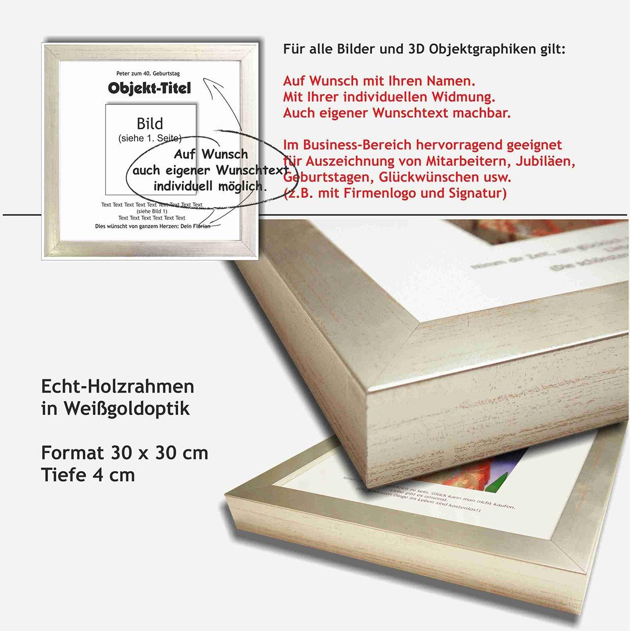 Schlüssel zum Erfolg. 3D Bild Collage und Objektgraphik. Kunst im ...