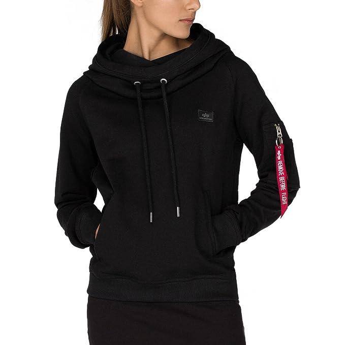 a8b4f8ce93bb33 Alpha Industries Women Hoodies X-Fit  Amazon.co.uk  Clothing